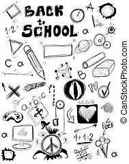 Back to school, doodle