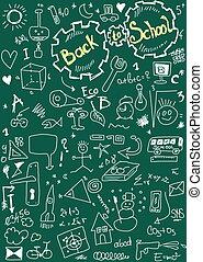 Back to school, doodle school