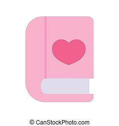 back to school education book literature love icon