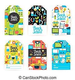 Back to School Gift Label Set