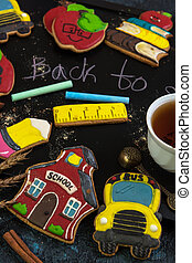 Back to school gingerbreads