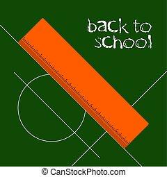 Back to school graphic design