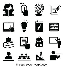 Back to school icons - Back to school icon set