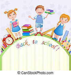 Back to school illustration-