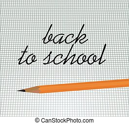 Back to school notice