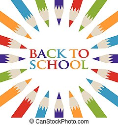 Back to School Pencil poster