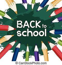 back to school pencils inside