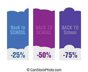 back to school price tag