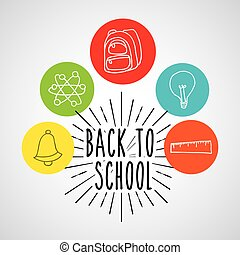 back to school set suplies