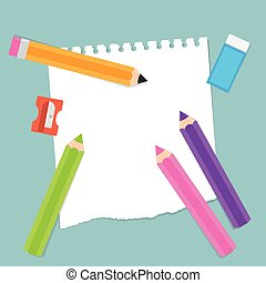 Back to School Stationery Items