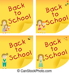 Back to School Sticky Note