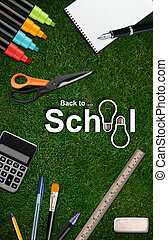 Back to school - Welcome Back to school background .