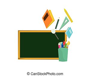 Back to School Symbolization with School Stationery