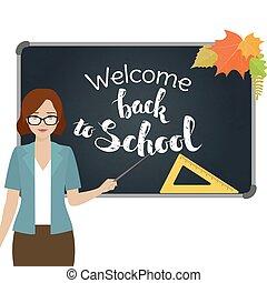 Back to school, Teacher
