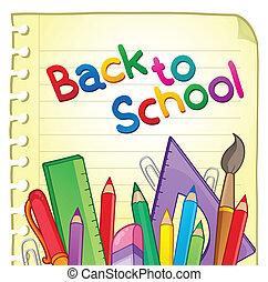 Back to school theme 6