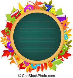 Back To School Theme - Back To School Color Background,...