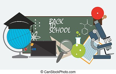 back to school. vector format