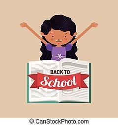 back to school , vector illustration