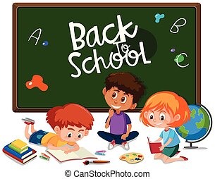 Back to school with student