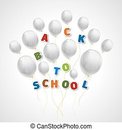 Back to school with white balls
