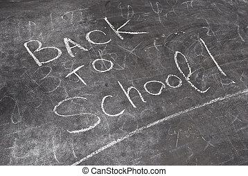 """""""Back to school"""" written"""