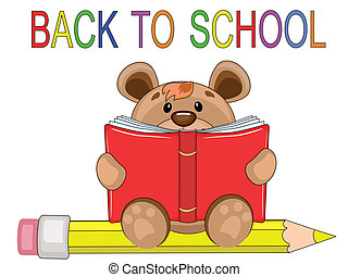 Back to school,bear