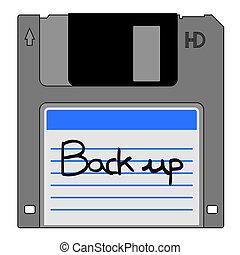 Back up disk - Creative design of back up disk