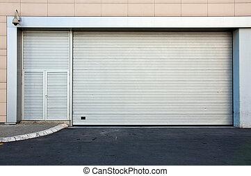 Backdoor - Commercial back door to retail store