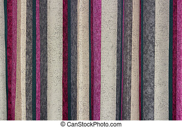 Backdrop with Color Stripes