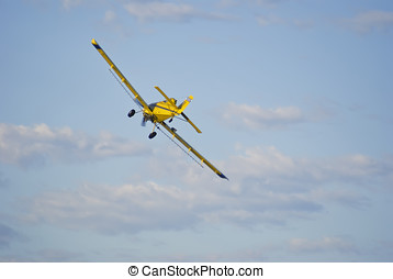 Backend of a crop duster