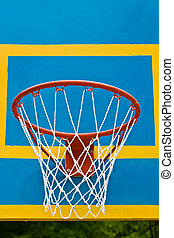 backet - sport series: basket for the basketball game
