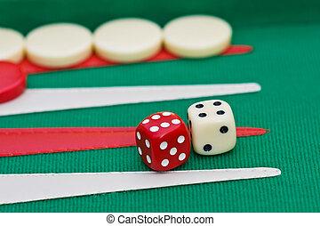 Backgammon, Sugoroku, Nard, Tabula , game is originated in...