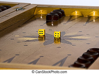 backgammon - the ancient game of chess is thought-provoking...