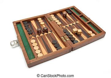 Isolated Backgammon Set 2
