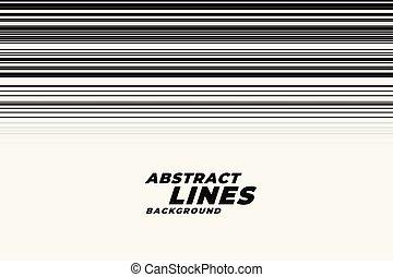 backgorund, abstratos, linhas, movimento, pretas, branca, velocidade
