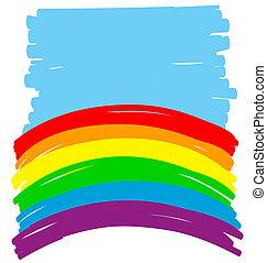backgorund, alegre,  Color, Extracto, Ilustración,  vector