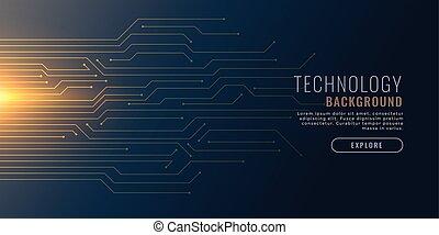 backgorund, diagramme, technologie, circuit