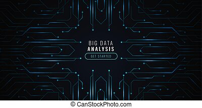 backgorund, données, circut, analyse, diagramme, technologie