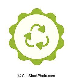 backgorund, simbolo, riciclaggio, plastica, cerchio, bianco