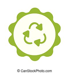 backgorund, symbool, recycling, plastic, cirkel, witte