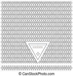 Backgound Of Line Geometric element