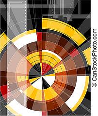 backgr, abstratos, tecnologia, coloridos