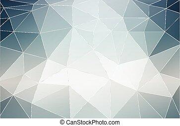 backgr, monocromático, abstratos, geometic