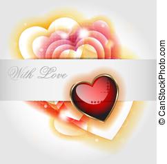 backgr, valentin,  s, jour,  Célébration