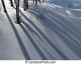 backgrou, inverno, neve