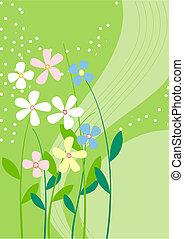 Backgroumd flowers