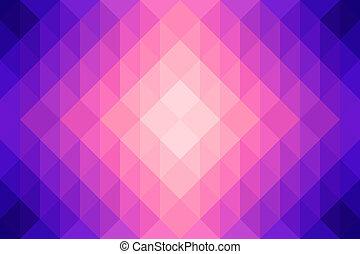 backgroun, 抽象的, 多角形, カラフルである