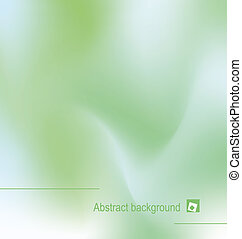 backgroun, abstract, groene, illustratie