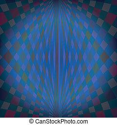backgroun, géométrique, spectre