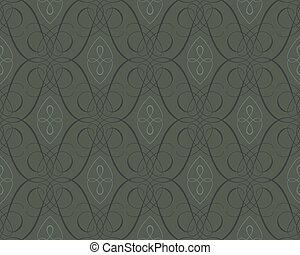 backgroun, papel parede, seamless, damasco